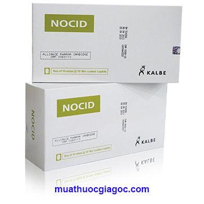 Thuốc Nocid giá bao nhiêu?