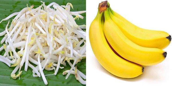 Tinh trùng yếu nên ăn giá đỗ, chuối, bơ, cà chua