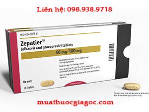 Giá thuốc Zepatier