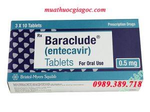 Giá thuốc Baraclude