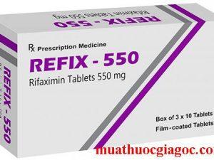Giá thuốc Refix 550