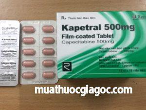 Giá thuốc Kapetral