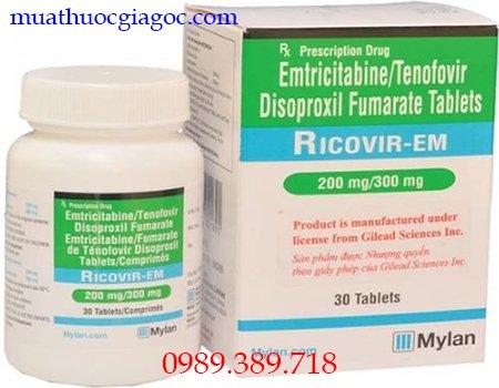 Thuốc Ricovir Em 200mg 300mg chính hãng