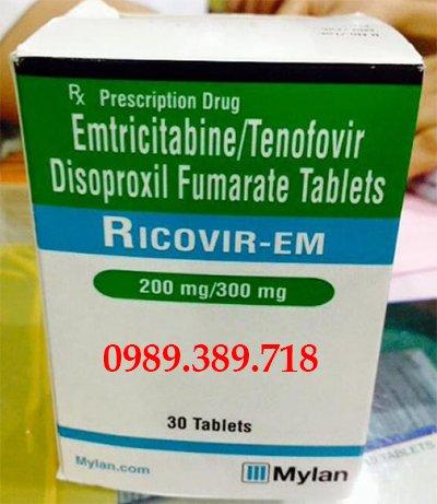 Thuốc Ricovir Em 200mg 300mg mua ở đâu, giá bao nhiêu?