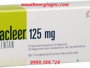 Thuốc Tracleer 125mg mua ở đâu?