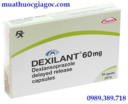 Thuốc Dexilant 60mg mua ở đâu, giá bao nhiêu?