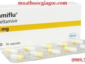 Thuốc Tamiflu 75mg mua ở đâu, giá bao nhiêu?