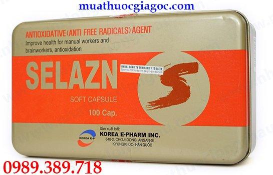 Thuốc Selazn Korea mua ở đâu chính hãng?