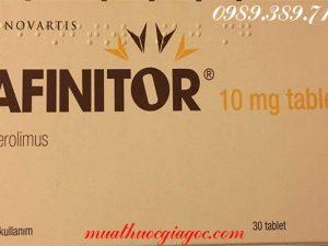 Thuốc Afinitor mua ở đâu, giá bao nhiêu?
