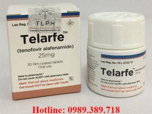 Giá thuốc Telarfe 25mg