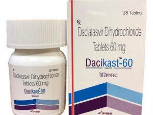 Giá Thuốc Dacikast 60
