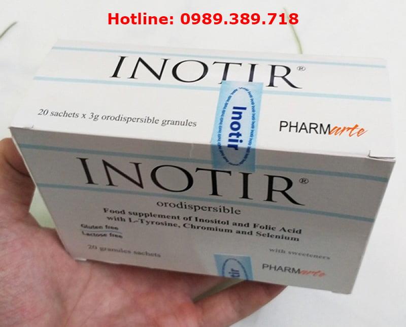 Thuốc Inotir giá bao nhiêu, mua ở đâu?