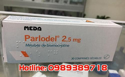 thuốc parlodel 2.5mg giá bao nhiêu, thuốc parlodel mua ở đâu