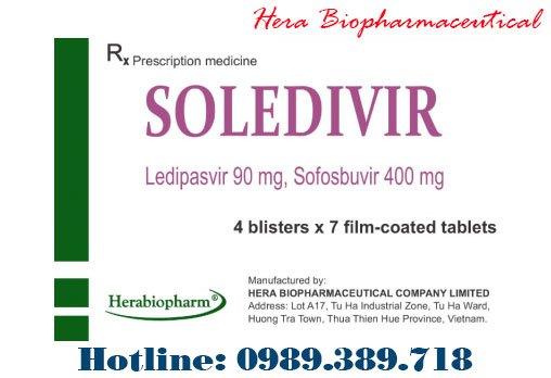 Giá thuốc Soledivir