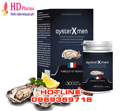 thuốc Oyster Xmen giá bao nhiêu mua ở đâu chính hãng tại Hà Nội TPHCM