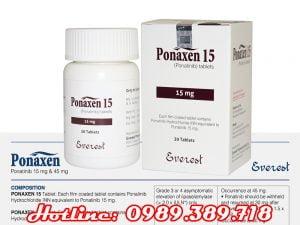 Giá thuốc Ponaxen 15