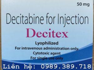 Giá thuốc Decitex 50mg