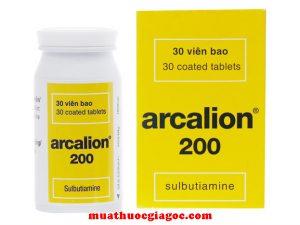 Giá thuốc Arcalion 200mg