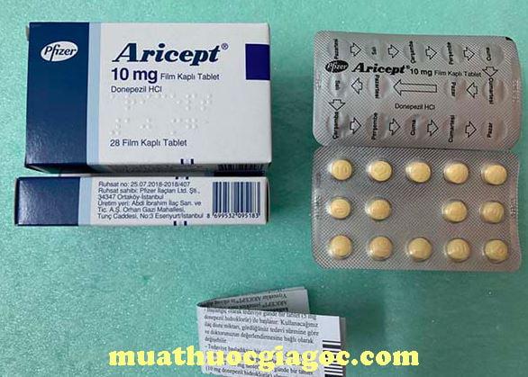 Giá thuốc Aricept