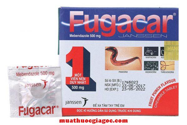 Thuốc Fugacar bao nhiêu tiền?