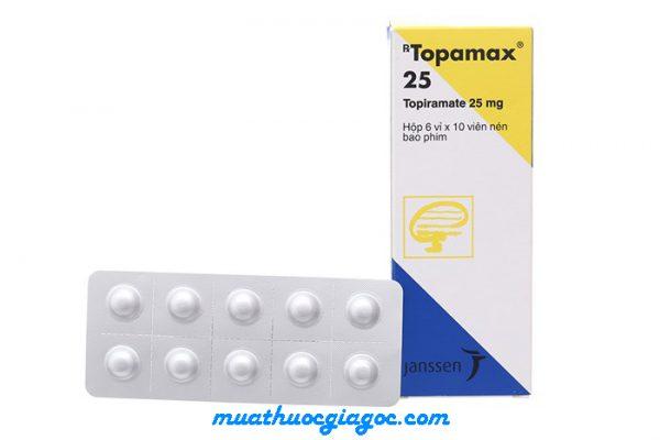 Giá thuốc Topamax 25mg