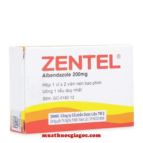 Giá thuốc Zentel 200