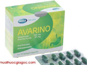 Giá thuốc Avarino