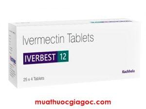 Giá thuốc Iverbest 12