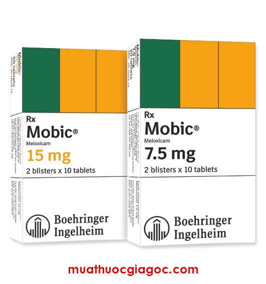 Giá thuốc Mobic 7.5mg